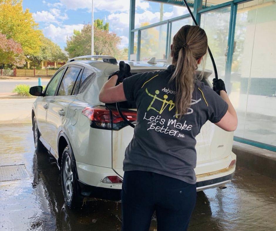 Car wash - Let's Make Better