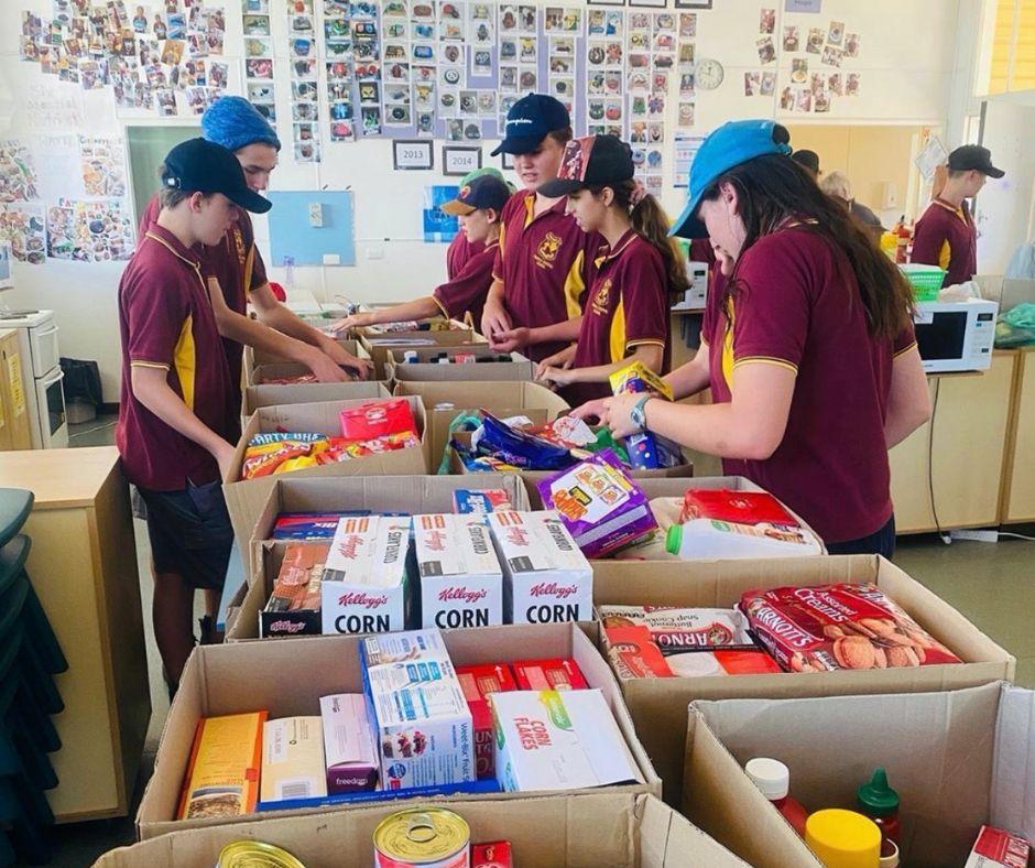 Trundle food donation - Let's Make Better